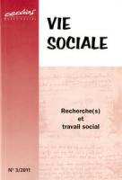 2011/3 - Recherche(s) et travail social