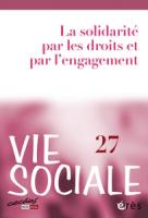 N° 27 (2019/3) Solidarité par les droits, solidarité par l'engagement