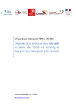 Départs à la retraite des effectifs salariés de l'ESS... / 2011 - application/pdf