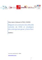 Départs à la retraite des effectifs salariés de l'ESS... Synthèse / 2011 - application/pdf