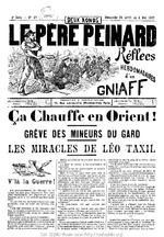 Le Père peinard. 2e série, n° 27 (Dimanche 25 Avril au 2 Mai 1897)  - application/pdf