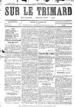 Sur le trimard. 3e série, n° 1 (23 février 1898)  - application/pdf