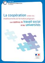 La coopération entre les établissements de formation préparant aux diplômes de travail social et les universités (2012) - application/pdf