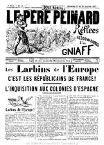 Le Père peinard. 2e série, n° 13 (17-24 janvier 1897)  - application/pdf