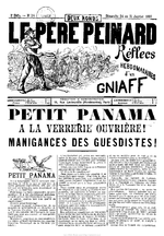 Le Père peinard. 2e série, n° 14 (24-31 janvier 1897)  - application/pdf