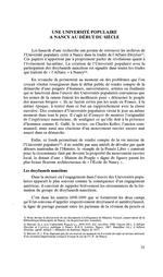 Une Université populaire à Nancy au début du siècle / Birck, Françoise (1988) - application/pdf