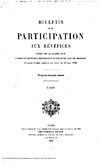 Bulletin de la participation aux bénéfices, A. 23 (1879-1934) - application/pdf