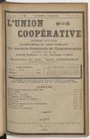 L'Union coopérative, A. 5, n° 50 (1899/08/01) - application/pdf