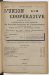 L'Union coopérative, A. 5, n° 54 (1899/12/01) - application/pdf