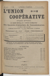 L'Union coopérative, A. 5, n° 55 (1900/01/01) - application/pdf