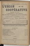 L'Union coopérative, A. 5, n° 56 (1900/02/01) - application/pdf