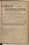 L'Union coopérative, A. 5, n° 57 (1900/03/01) - application/pdf