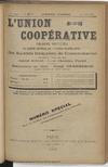 L'Union coopérative, A. 6, n° 62BIS (1900/08/15) - application/pdf