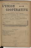 L'Union coopérative, A. 4, n° 65 (1900/11/01) - application/pdf