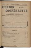 L'Union coopérative, A. 6, n° 67 (1901/01/01) - application/pdf