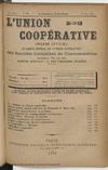 L'Union coopérative, A. 6, n° 71 (1901/05/01) - application/pdf