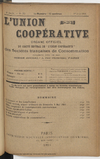 L'Union coopérative, A. 6, n° 72 (1901/06/01) - application/pdf