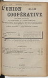 L'Union coopérative, A. 6, n° 75 (1901/09/01) - application/pdf