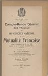 13e congrès national de la Mutualité française (1923) - URL