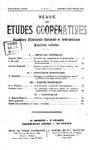 Revue des études coopératives, n° 9 (octobre-décembre 1923) - URL