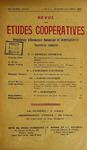 Revue des études coopératives, n° 13, octobre-décembre 1924 - URL