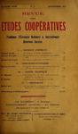 Revue des études coopératives, n° 14, janvier-mars 1925 - URL