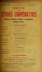 Revue des études coopératives, n° 15, avril-juin 1925 - URL