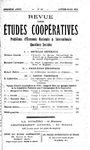 Revue des études coopératives, n° 18, janvier-mars 1926 - URL