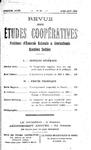 Revue des études coopératives. n° 19 (avril-juin 1926) - URL