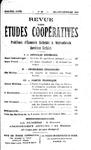 Revue des études coopératives, n° 20, juillet-septembre 1926 - URL