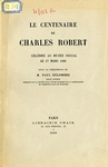 dn-870 Le centenaire de Charles Robert - application/pdf