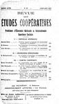 Revue des études coopératives. n° 23 (avril-juin 1927) - URL