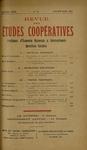Revue des études coopératives. n° 26 (janvier-mars 1928) - URL