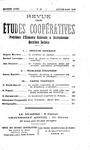 Revue des études coopératives. n° 30 (janvier-mars 1929) - URL