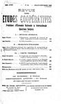 Revue des études coopératives. n° 36 (juillet-septembre 1930) - URL