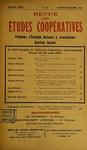 Revue des études coopératives. n° 37 (octobre-décembre 1930) - URL