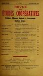 Revue des études coopératives. n° 38 (janvier-mars 1931) - URL