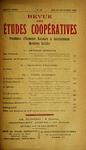 Revue des études coopératives. n° 40 (juillet-septembre 1931) - URL