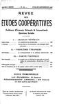 Revue des études coopératives. n° 44 (juillet-septembre 1932) - URL