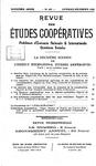 Revue des études coopératives. n° 45 (octobre-décembre 1932) - URL
