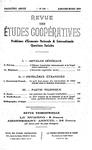 Revue des études coopératives. n° 50 (janvier-mars 1934) - URL