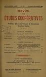 Revue des études coopératives. n° 53 (octobre-décembre 1934) - URL