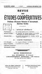 Revue des études coopératives. n° 57 (octobre-décembre 1935) - URL