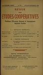 Revue des études coopératives. n° 56 (juillet-septembre 1935) - URL