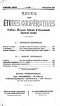 Revue des études coopératives. n° 59 (avril-juin 1936) - URL