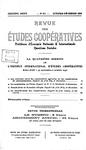 Revue des études coopératives. n° 61 (octobre-décembre 1936) - URL
