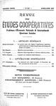 Revue des études coopératives. n° 63 (avril-juin 1937) - URL