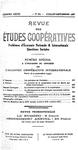 Revue des études coopératives. n° 64 (juillet-septembre 1937) - URL