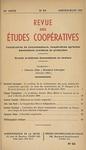 Revue des études coopératives. n° 83 (janvier-mars 1951) - URL